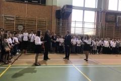 Zdjęcie z rozpoczęcia roku szkolnego 2018/2019